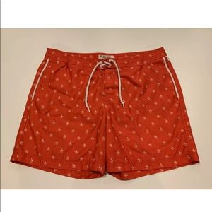 Penguin Original Mens Swim Trunks Shorts Sz 38